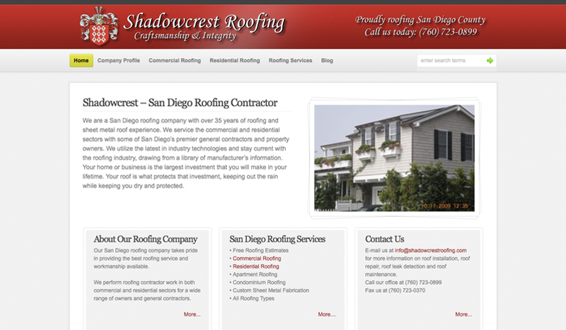 Shadowcrest Roofing